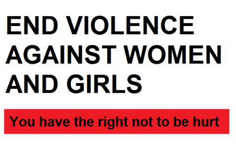 End violence against women and girls in Hackney
