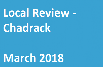 Local Review – Chadrack